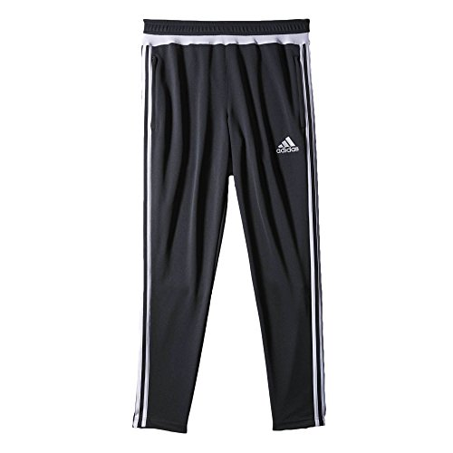 Adidas Trio 15 Men's Training Pants Cool Grey/White/Dark Shale s30155 (Size S)