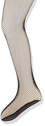 Capezio Girls' Big Professional Fishnet Seamless Tight, black, Large/X-Large