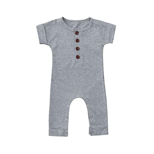 Putars Baby Clothing Infant Girls&Boys One Pieces Short Sleeved Romper Jumpsuit