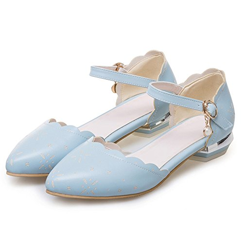 Chiuse White Donna Scarpe Cinturino Ballerine 108 Moda TAOFFEN Sandali Basse Z0wgzzUq