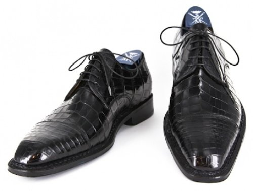 New Sutor Mantellassi Black Shoes 7/6