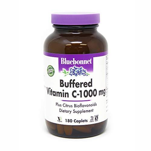 - BlueBonnet Buffered Vitamin C 1000 mg Caplets, 180 Count