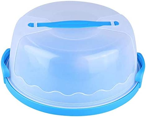 Yosoo 10 Inch Caja para Tarta Redonda Pastel de depósito portátil ...