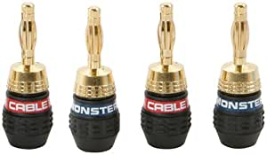 Monster Cable QuickLock™ MKII Gold Banana - Conector (Oro)