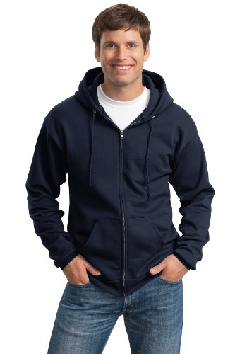 Con Cappuccio Port Zip Full Felpa S Blu Men' amp; Royal Company Ultimate wwp8z