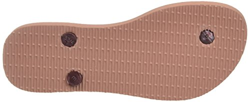 Slim Havaianas Rose Tongs Rose Femme Animals crocus 1wEBw