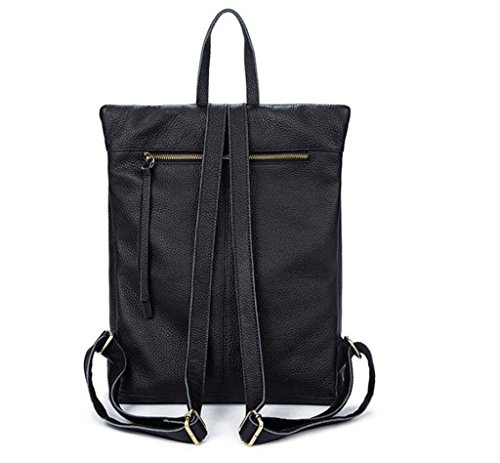 scuola Shoulder backpack Leather Lady a bag student viaggio 3 fashion leisure double andare 1 bag SHOUTIBAO 7t0xnqt