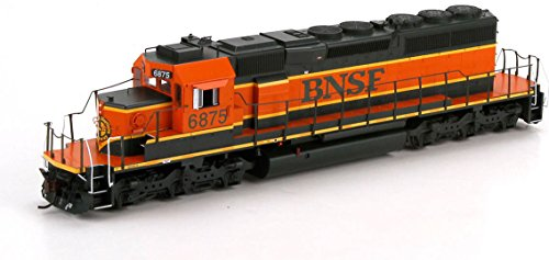 Athearn - HO RTR SD40-2 w/Nose Light, BNSF/Heritage I #6875