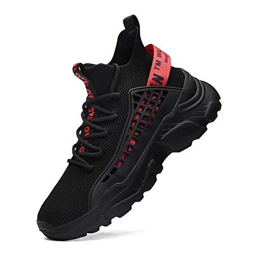 FUSHITON Herenmode Schoenen Hoge Toppen Sneakers Wandelen Rennen Gewoontjes