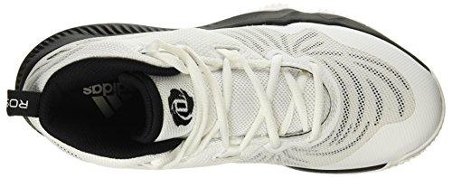 Adidas Heren D Steeg Domineren Iii, Wit / Zwart Wit / Zwart