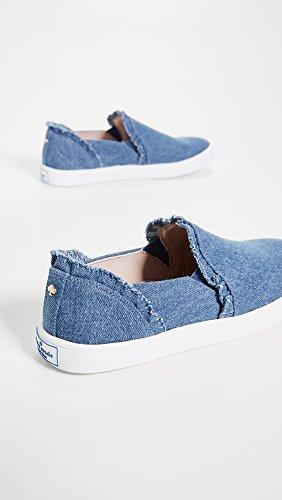 Kate York Women's Light Sneaker Lilly Denim New Spade Blue wzCwZ7qB6