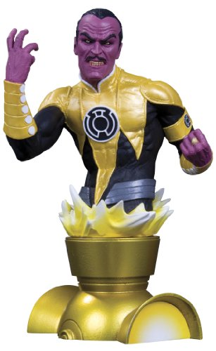 DC Direct Heroes of the DC Universe: Sinestro Bust