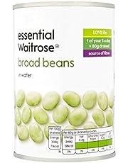 Broad Beans essential Waitrose 300g - Pack of 4