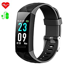 Fitness Trackers, HETP Fitness Watch Heart Rate Monitor Acti...