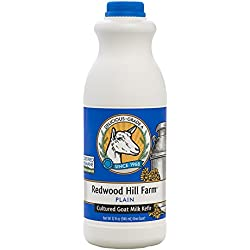 Redwood Hill Farm Probiotic Kefir, Plain, 32 Ounce (Pack of 6)
