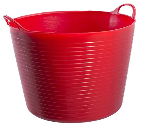 Tubtrugs Large 10 Tub, 10 gallon, Red -