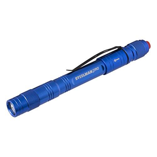 STEELMAN PRO 78735 Rechargeable 70 Lumen Pen Light in Blue