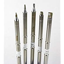Hakko T15 Series Chisel Tip Pack with T15-D08/D12/D24/D32/D52 Tips by Hakko