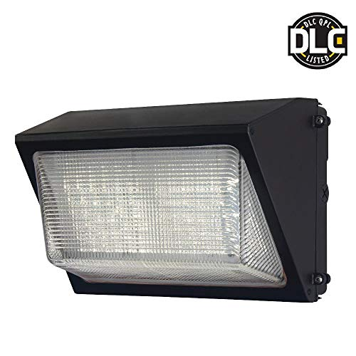 (Probrite 50-Watt Dark Bronze Outdoor Integrated LED Wall Light 6800 lumens)