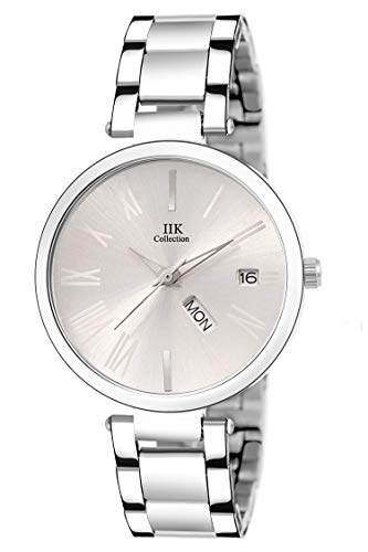 IIK COLLECTION Analogue Women #39;s Watch  Silver Dial