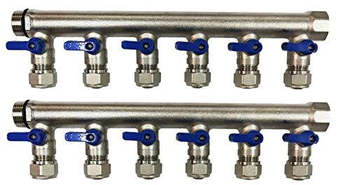(12 Loop Plumbing Manifold w/ 1