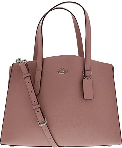 Coach Women's Polished Pebble Leather Charlie Carryall Svpeony One Size