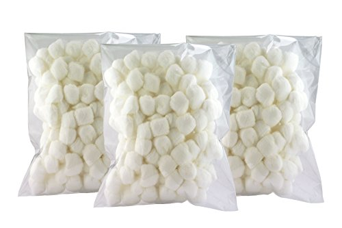 (Linda Multipurpose 100% Pure Cotton Balls, Large 300 Count)