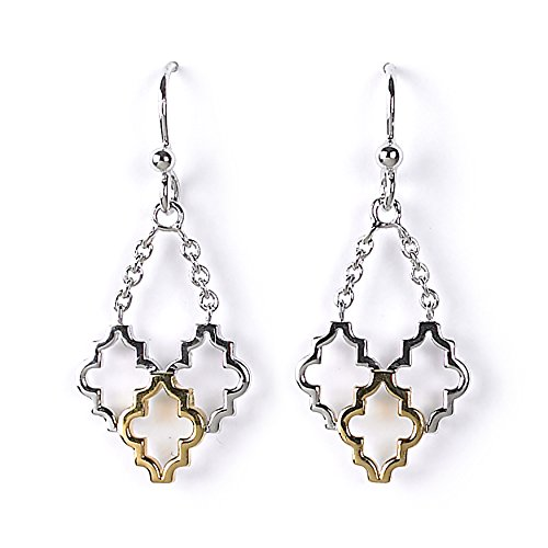 Jody Coyote Earrings Alhambra Collection ALH-0115-02 18 kt gold plated