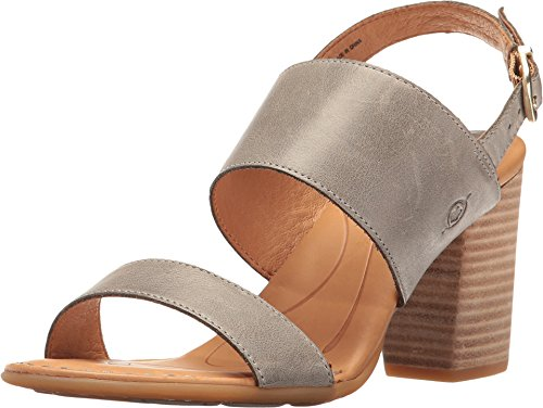 Born Women's Holguin Grey Full Grain 10 M US M (B) ()