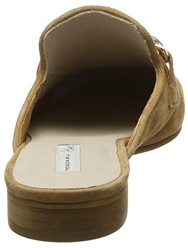 Marrone C59 Tosca Pantofole Donna Cha Blu cuoio SSgqI8Y