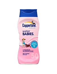 Coppertone Waterbabies SPF 50 Lotion, 8 Fluid Ounce BOBEBE Online Baby Store From New York to Miami and Los Angeles