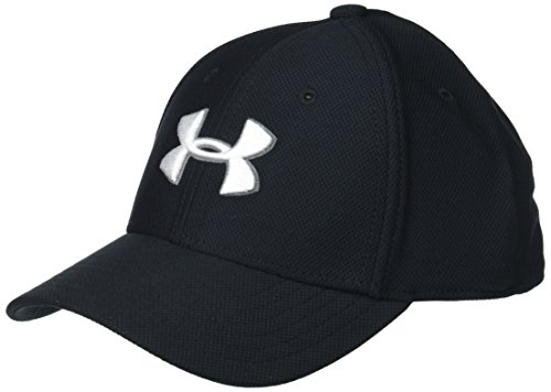 Under Armour Boys' Little Baseball Hat, Black 1, 4-6 (Kids Armour Under Hat)