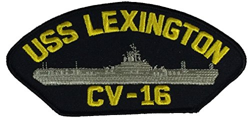 uss-lexington-cv-16-patch-multi-colored-veteran-owned-business