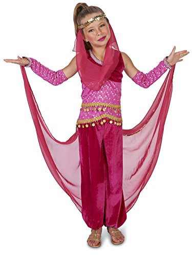 Pink Genie Child Costume Small (Genie Costumes For Kids)