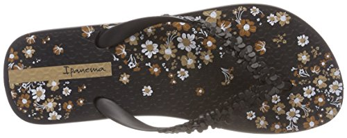8635 Fem Floral Fashion Black Chanclas Multicolor Ipanema para Mujer 8qwE0dw5