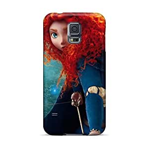 Scratch Protection Hard Phone Cases For Samsung Galaxy S5 (WqK24227fNep) Customized Vivid Brave's Princess Merida Pictures