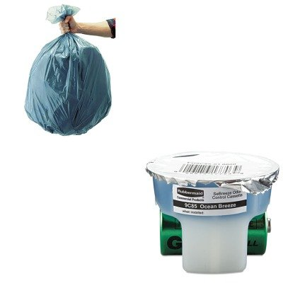 KITRCP501188GRARCP9C8501 - Value Kit - Rubbermaid SeBreeze Fragrance Cassette (RCP9C8501) and Rubbermaid 5011-88 Tuffmade Polyliner Low-Density Can Liners, 55 Gallons ()
