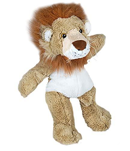 - Cuddly Soft 16 inch Stuffed Lion...We Stuff 'em...You Love 'em!