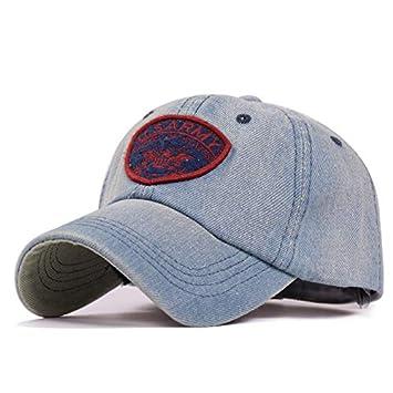 GKRY Baseball Cap/Gorras de béisbol Gorra de Trucker/Outdoor Running Cap/Snapback Hat/Gorras Beisbol/Hombre señora divisa sombrilla Ocio Retro Vaquero, ...