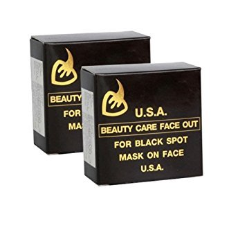 2 Box : K.BROTHERS WHITENING FACE SOAP BEAUTY CARE AND DARK SPOT, BY TAWEEKOON