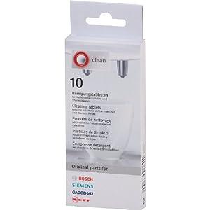 Bosch/Siemens 310575 Tablettes de nettoyage 10 tablettes (Import Allemagne)