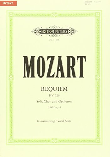 Requiem KV626 (Vocal Score) - Mozart Requiem Sheet