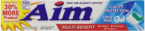 AIM Cavity Protection Gel Toothpaste - 6 oz - Mint ()