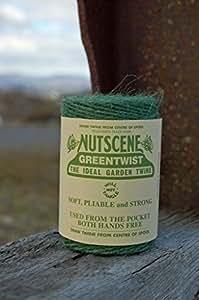 Nutscene, de bobina de cordel de yute 110m, verde