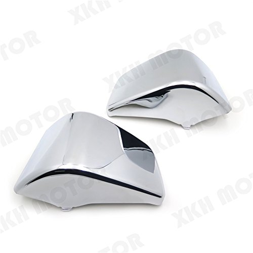 Price comparison product image XKH MOTO- Battery Side Fairing Cover For Honda Shadow ACE750 VT400 1997-2003 Chrome