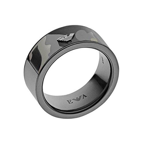 b747676cf649b Emporio Armani Stainless Steel Eagle Logo Ring Size 11 EGS1023 BNWT ...