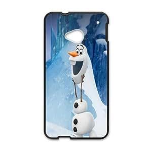 HTC One M7 Phone Case Cover Black Frozen9 EUA15997390 Cellaris Phone Cases
