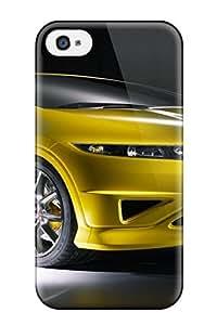 Hot Design Premium ULtukBy3427DTTFb Tpu Case Cover Iphone 4/4s Protection Case(honda Car)
