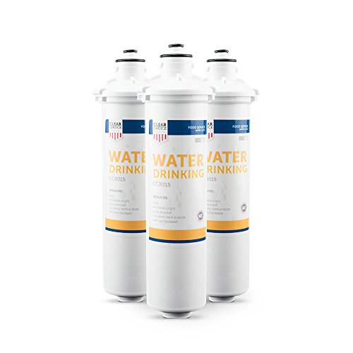 H54 Drinking Water - Clear Choice Drinking Water Filtration System Replacement Cartridge for Everpure 2-HL EV9592-01 EV9720-06 H-54 S-54 Also Compatible with Nu Calgon 9618-07 9619-06, BevGuard BGE-3200, 3-Pack