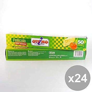 Set 24 OTTIMO Pellicola 50 Mt 280X9 Prodotti per la cucina: Amazon ...